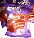 Milka Triple Mousse Alfajor