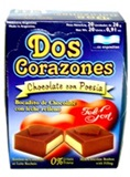 Dos Corazones (Two Hearts) - Chocolate