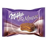 """Milka Mousse Milk ""Alfajor"" - 6 Units"""