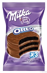 """Milka Oreo Cake ""Alfajor"" - 24 Units"""