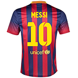 F.C. Barcelona Official Home Jersey- Messi