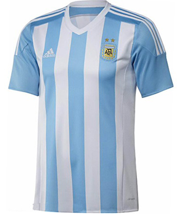 100% authentic 8affa f84dc Argentina National Soccer Team Jersey 2015|AFA|Argentina