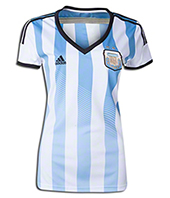 Argentina National Soccer Team Jersey 2014 -  For woman