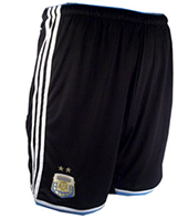 Argentina National Soccer Team Shorts 2014 (Black)