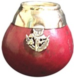 Pumpkin mate with decoration and charm